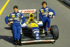 The somewhat surprising Williams line-up for the 1993 season