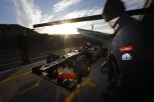 Kimi in the new Lotus