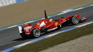 Massa impressing in the new Ferrari