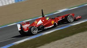 Massa impressing in the new Ferrari