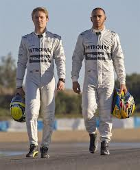 Nico and Lewis...interesting times ahead!