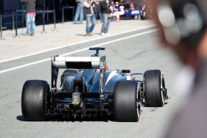 Most attractive car on the grid has to be the new Sauber