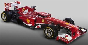 The beautiful new Ferrari. Will this be the title winning car?