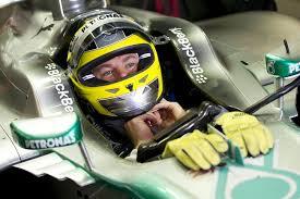 Nico Rosberg, the fastest man in pre-season testing