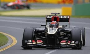 Kimi leading the charge at the Australian Grand Prix