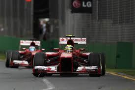 Massa leading Alonso (fun while it lasted!)