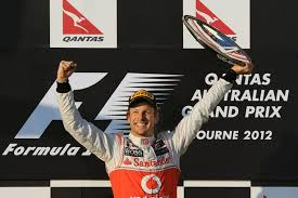 Jenson Button in happier times (hard to believe this is only 12 months ago)