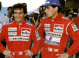 Prost and Senna - the best of enemies