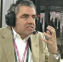 Mr Bean goes to an F1 race