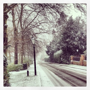 Sevenoaks in January. Still looks the same!