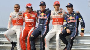 Four title contenders and Mark Webber