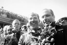 Moss and Fangio