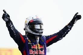Vettel back on top