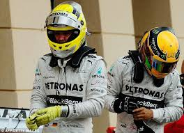 Mixed fortunes (again) for the Mercedes drivers