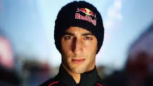 Daniel Ricciardo - suits a Red Bull hat doesn't he...!