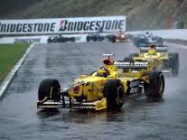 Damon Hill and Ralf Schumacher in Spa 1998