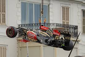 Romain Grosjean in Monaco. I think we all know how this is going to end.