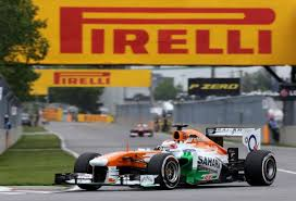 Paul Di Resta - the greatest advert for Pirelli!