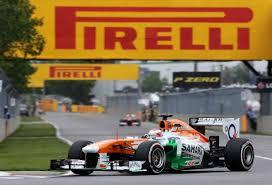 Paul Di Resta - the greatest advert for Pirelli!