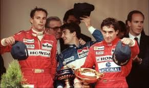 Gerhard and Ayrton, a different era.