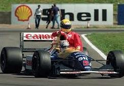 Mansell and Senna, 1991.