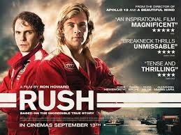 Rush: the movie I have been waiting for all year!