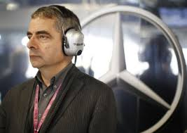 Why no interview with Mr Bean? The 6 year old was disconsolate.