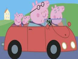 Daddy Pig please box at the end of this lap!