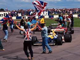 Silverstone, 1992. Mansell's 7th win of the season.
