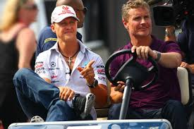 Schumacher and Coulthard in the comeback years